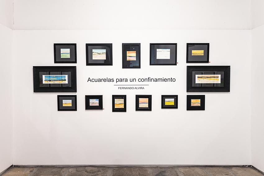 Nueva exposición temporal de Fernando Alvira «Acuarelas para un confinamiento»