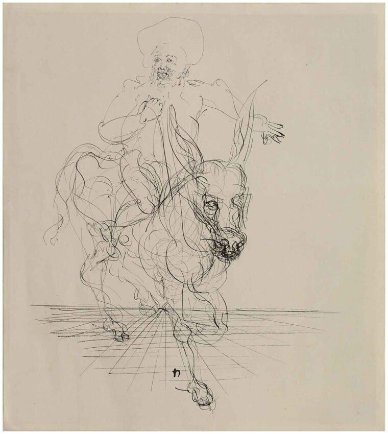 Sombrero de tres picos, Salvador Dalí, Sala 12