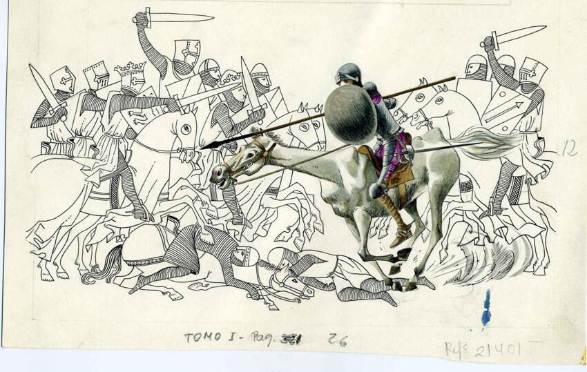El Quijote, Celedonio Perellón, Sala 6