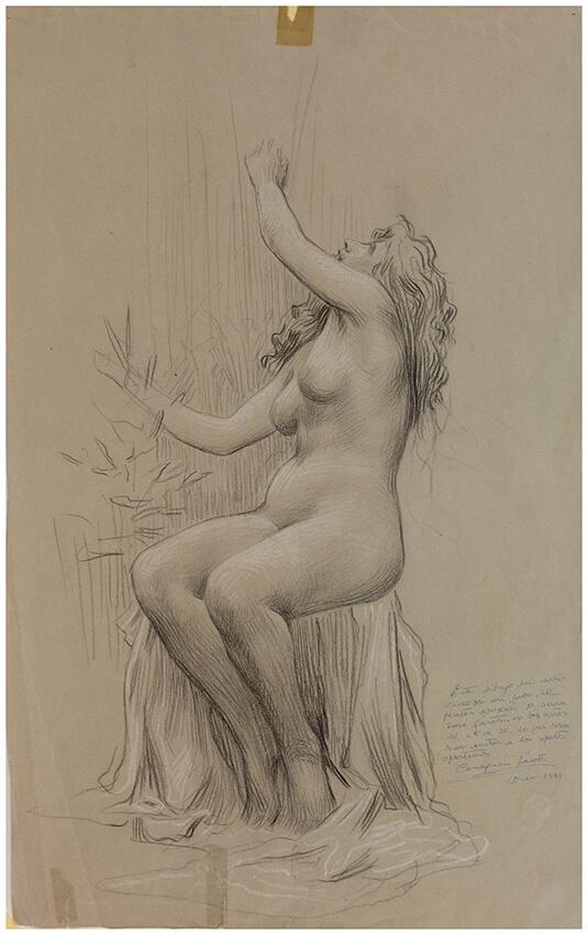 Estudio de desnudo, Juan Jose Gárate, Sala 4