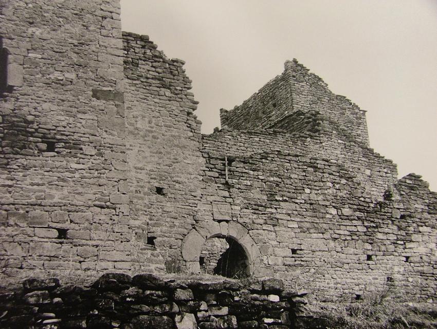 1977 estado de la fachada principal y torre sur