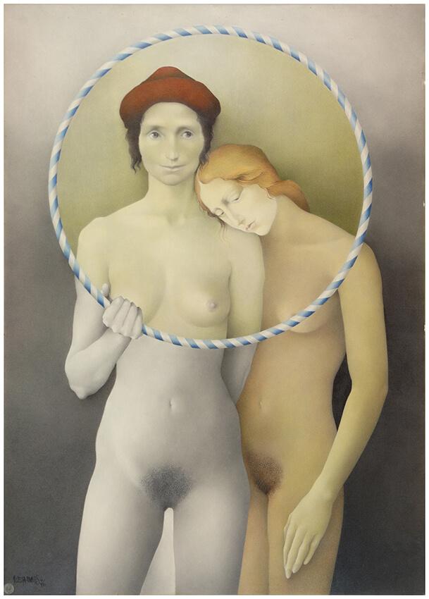Estudio de desnudos, Margarita Pamiés, Sala 7