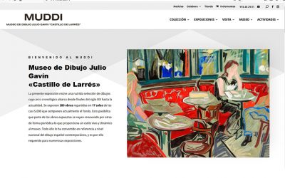 El MUDDI estrena página web