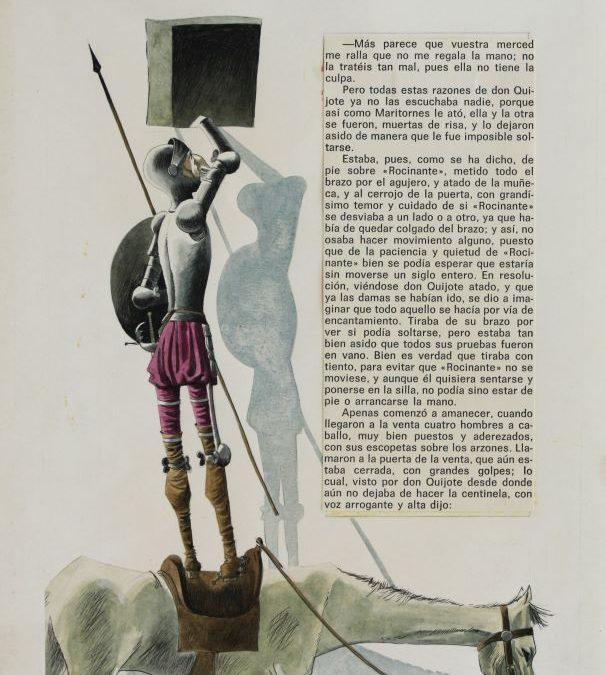El MUDDI celebra el dia internacional del libro con El Quijote